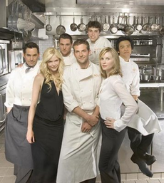 Charmant The Cast Of Kitchen Confidential
