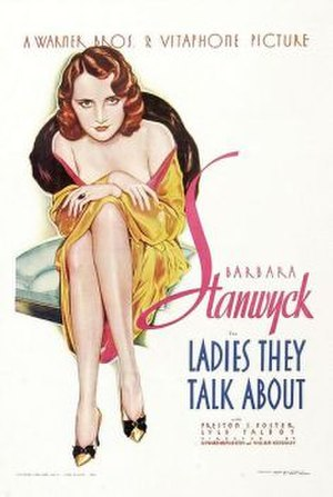 Ladies They Talk About - Theatrical release poster by Alberto Vargas