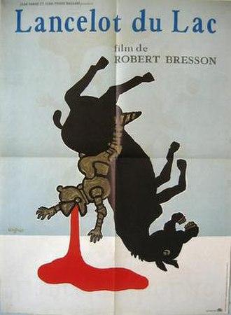 Lancelot du Lac (film) - Theatrical film poster