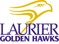 Laurier Golden Hawks women's ice hockey athletic logo