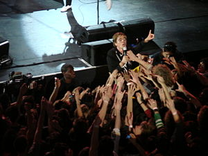 The Hives - Pelle Almqvist in concert.