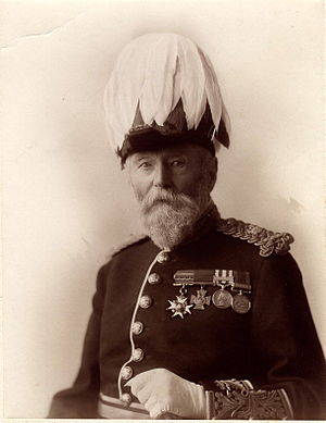 Harry Lyster - Image: Lieutenant General Harry Hammon Lyster VC, CB in about 1900