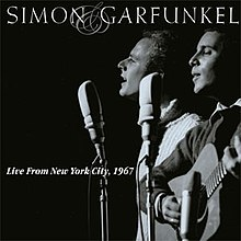 Live aus New York City, 1967 (Simon und Garfunkel Album - Cover Art) .jpg