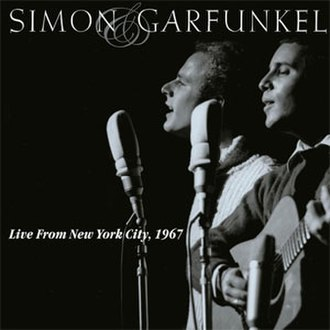 Live from New York City, 1967 - Image: Live from New York City, 1967 (Simon and Garfunkel album cover art)