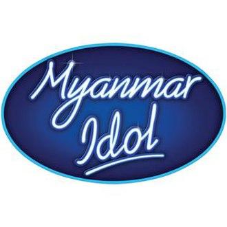 Myanmar Idol - Image: Logo of Myanmar Idol
