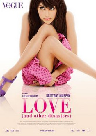 Love and Other Disasters - Promotional poster