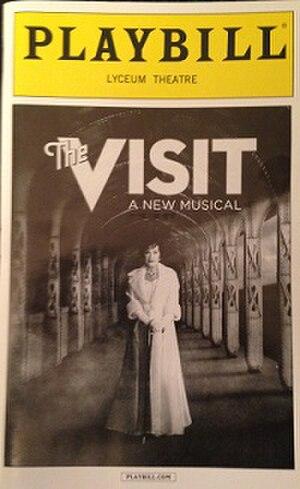 The Visit (musical) - Original Broadway Playbill