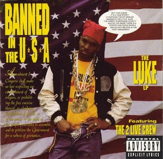 Banned in the U.S.A. - Image: Luke Banned 1990 Original