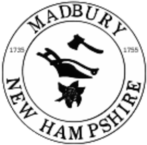 Madbury, New Hampshire - Image: Madbury, NH Town Seal