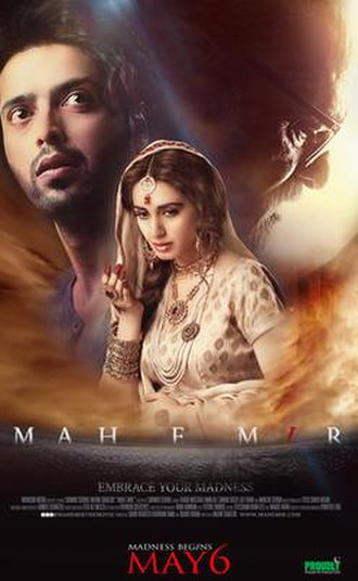 Mah e Mir - Theatrical release poster