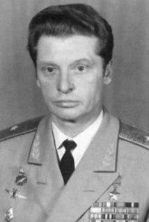 Soviet and Russian test pilot