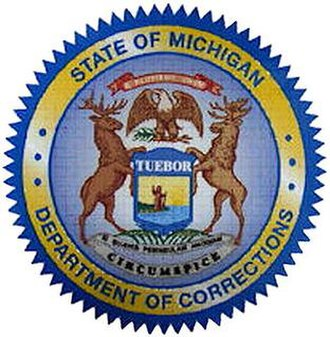 Michigan Department of Corrections - Image: Michigan Department of Corrections seal 50 percent