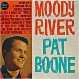 Moody River - Image: Moody River by Pat Boone single cover
