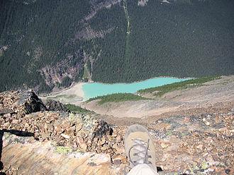 Fairview Mountain (Alberta) - Lake Louise from Fairview Mtn