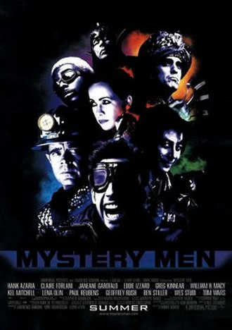 Mystery Men - Theatrical release poster