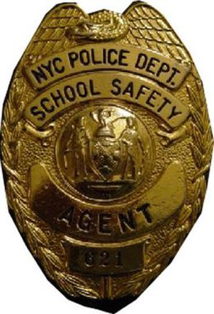 New York City Police Department School Safety Division - Image: NYPD School Safety badge