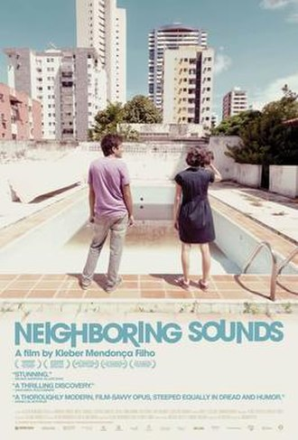 Neighboring Sounds - Theatrical release poster