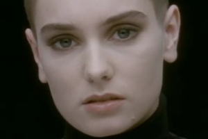 Nothing Compares 2 U - The lone face of O'Connor made the video one of the most recognisable of the 1990s.