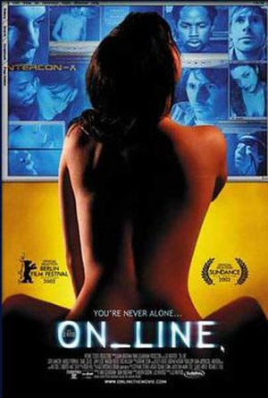 On Line - Promotional poster for the film