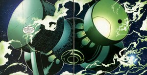 Green Lantern Corps - Oa's defensive systems