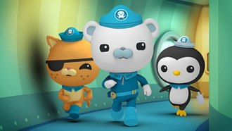 The Octonauts - Kwazii, Barnacles and Peso