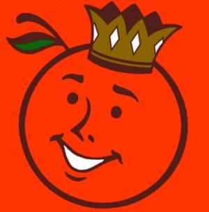 1988 Orange Bowl - Image: Orange Bowl Logo 1951 1995