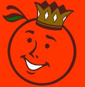 1988 Orange Bowl - Image: Orange Bowl Logo 1951 1995