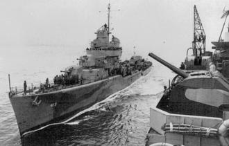Convoy PQ 17 - Image: PQ17 USS Wainwright
