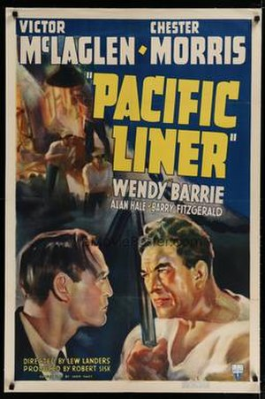 Pacific Liner - Theatrical film poster
