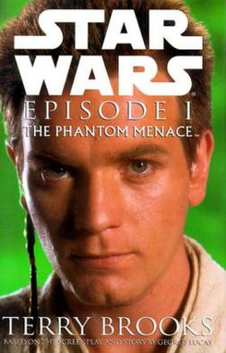 Star Wars: Episode I – The Phantom Menace (novel) - Image: Phantommenacenovel obiwan