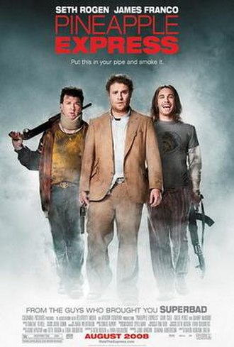 Pineapple Express (film) - Theatrical release poster
