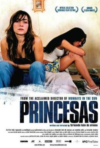 Princesas - Promotional movie poster for the film