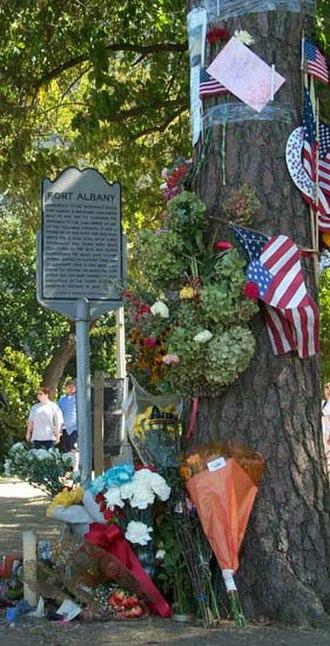 Arlington Ridge, Virginia - Prospect Hill after the September 11 attacks