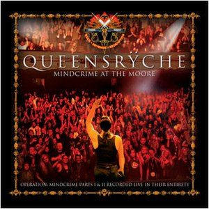 Mindcrime at the Moore - Image: Queensryche Mindcrime at the Moore cover