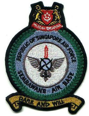 Sembawang Air Base - Sembawang Air Base crest badge