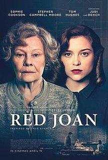 <i>Red Joan</i> 2018 film by Trevor Nunn