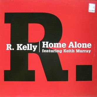 Home Alone (R. Kelly song) - Image: Rkellyhomealone