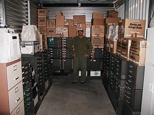 Sounddogs - Rob Nokes at SoundStorm Sound Effects Library Storage
