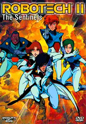 Robotech II: The Sentinels - Region 1 DVD release cover