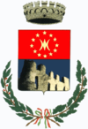 Coat of arms of Rocca Canavese