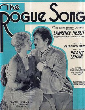 The Rogue Song - Sheet music for The Rogue Song