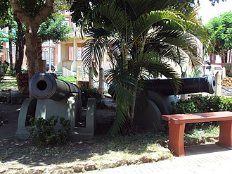 Santarém, Pará - Cannons from the Tapajós Fortress