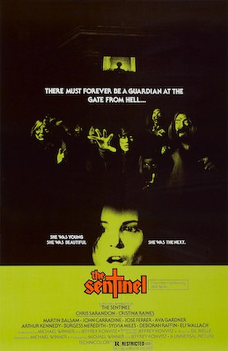 The Sentinel (1977 film) - Theatrical release poster by Bill Gold
