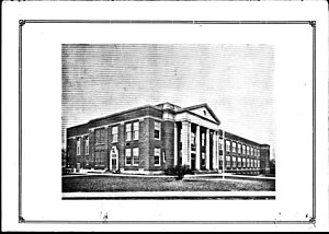 Sewickley High School - Sewickley High School in 1927