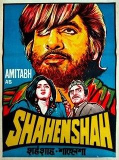 <i>Shahenshah</i> (1988 film) 1988 Indian Hindi film by Tinnu Anand