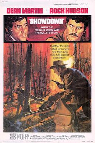 Showdown (1973 film) - 1973 Theatrical Poster