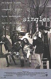 <i>Singles</i> (1992 film) 1992 American romantic comedy film by Cameron Crowe