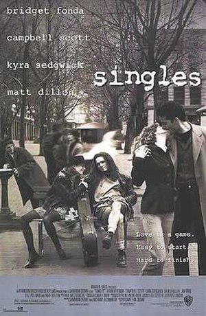 Singles (1992 film) - Theatrical release poster