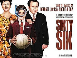 Sixty Six (film) - British theatrical release poster