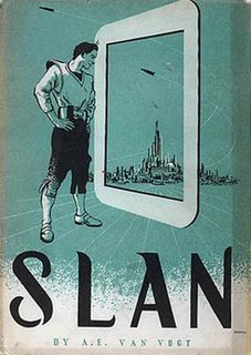 <i>Slan</i> Novel by A. E. van Vogt